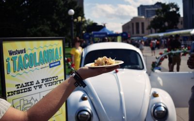 Denver Westword's Tacolandia 2018: Our First Big Event with a VW Bug Photo Booth